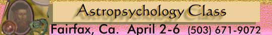 Bay Area Astropsychology Class