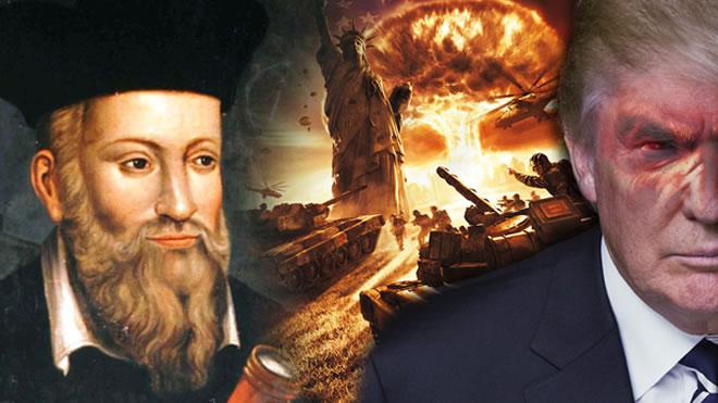 Image result for 2017 / 2018 Nostradamus Neptunius Draconis Universal Predictions