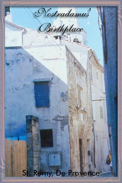 nostradamus\'birthplace